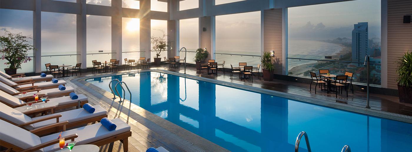 khách sạn 4 sao mặt biển Đà Nẵng có hồ bơi giá rẻ - khách sạn Diamond Sea Đà Nẵng