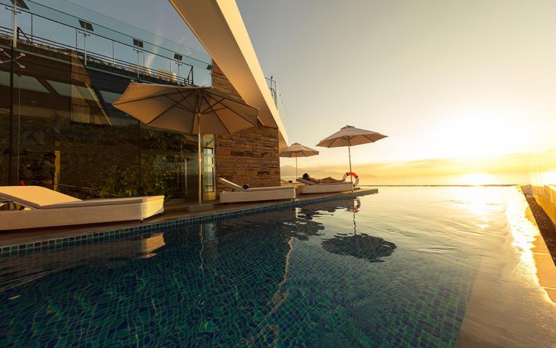 khách sạn 4 sao mặt biển Đà Nẵng có hồ bơi giá rẻ - khách sạn Belle Masion Đà Nẵng