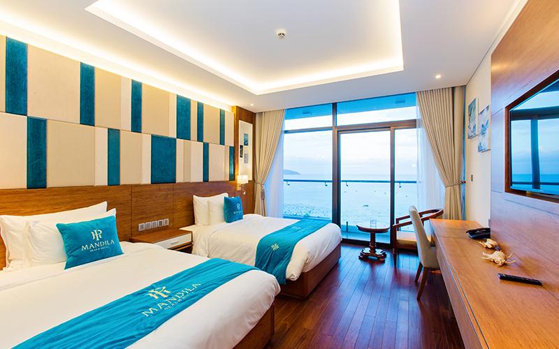 khách sạn 4 sao mặt biển Đà Nẵng có hồ bơi giá rẻ - khách sạn Mandila Beach Đà Nẵng