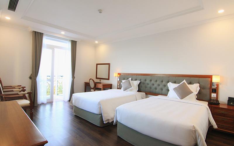 khách sạn 4 sao mặt biển Đà Nẵng có hồ bơi giá rẻ - khách sạn Pracel Đà Nẵng